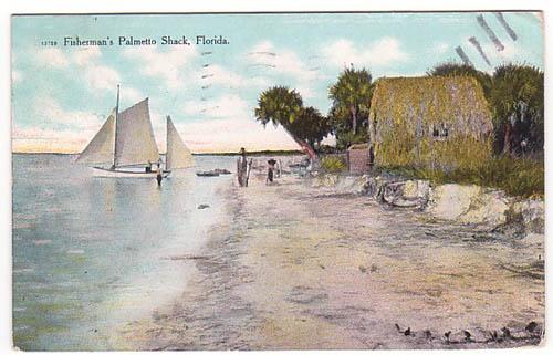 Florida Fishermans Palmetto Shack