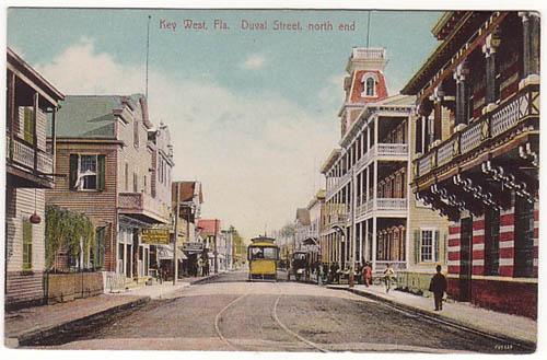 Key West Duval Street north end