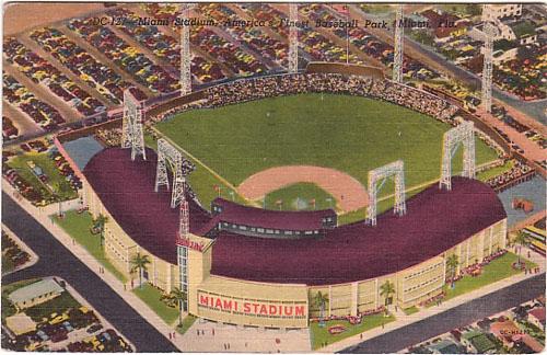 Miami - Miami Stadium - Baseball