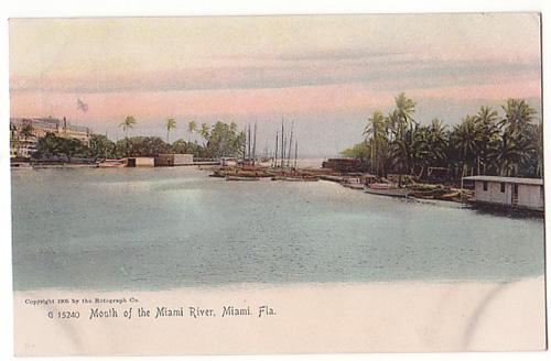 Miami Mouth of the Miami River