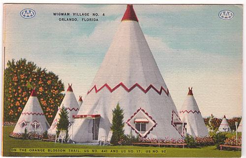 Orlando - Wigwam Village No 4