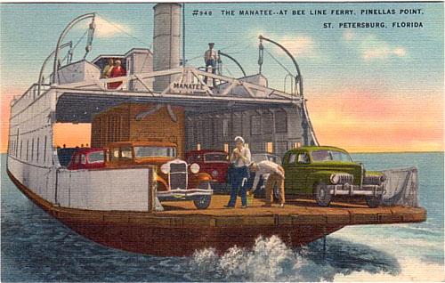 St Petersburg - Bee Line Ferry
