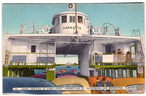 St Petersburg -  Port Authority Ferry