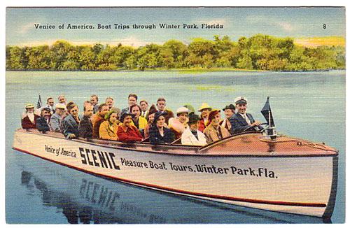 Winter Park Scenic Boat Trip Tours